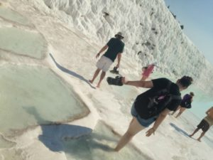 Pamukkale – Walking Through the Healing Waters